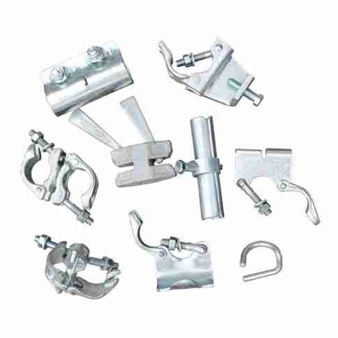 Range of scaffolding clamps and couplers
