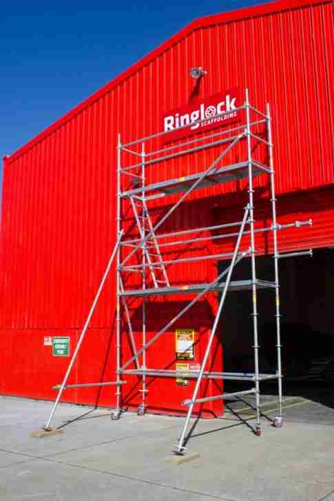 Ringlock DIY mobile scaffold package