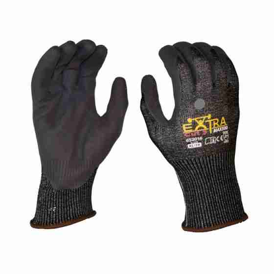 Range of scaffolding work gloves